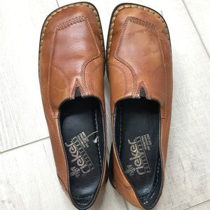 Rieker leather anti-stress loafers size 11